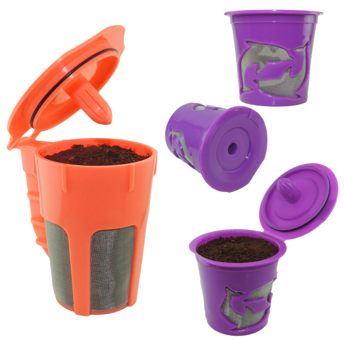 Reusable Keurig 20 K Cup Refillable Coffee Filter Combo Pack